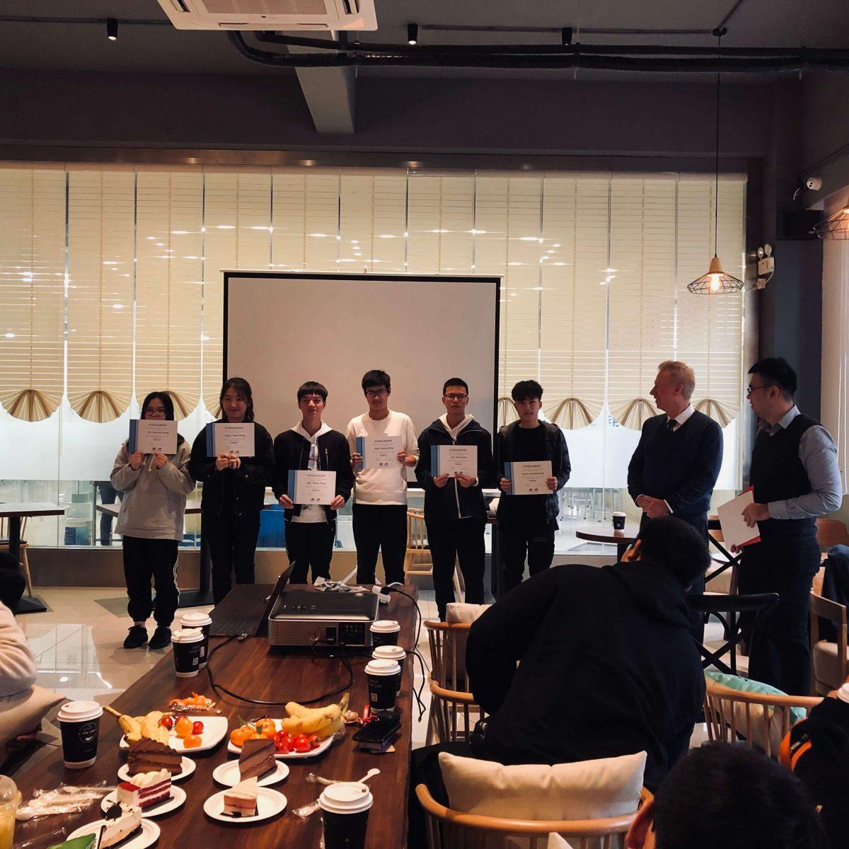 「活动」剑桥文理学校波士顿校本部校长到访并颁发2018年度剑桥文理学校中国奖学金