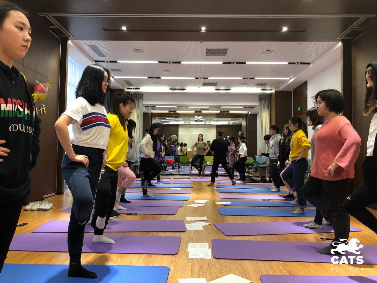 瑜伽课第一课