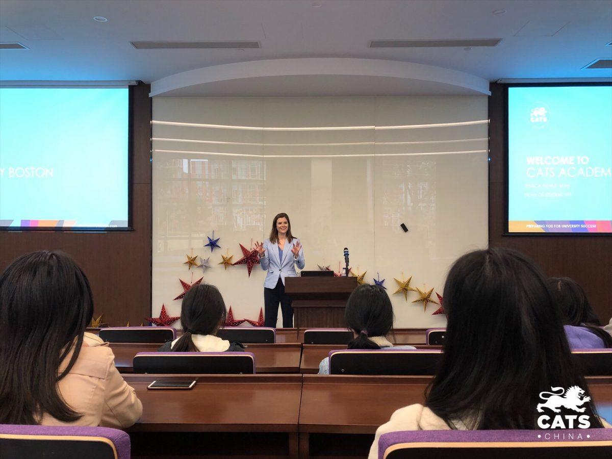 凯师波士顿校本部学生服务系主任到访凯师中国