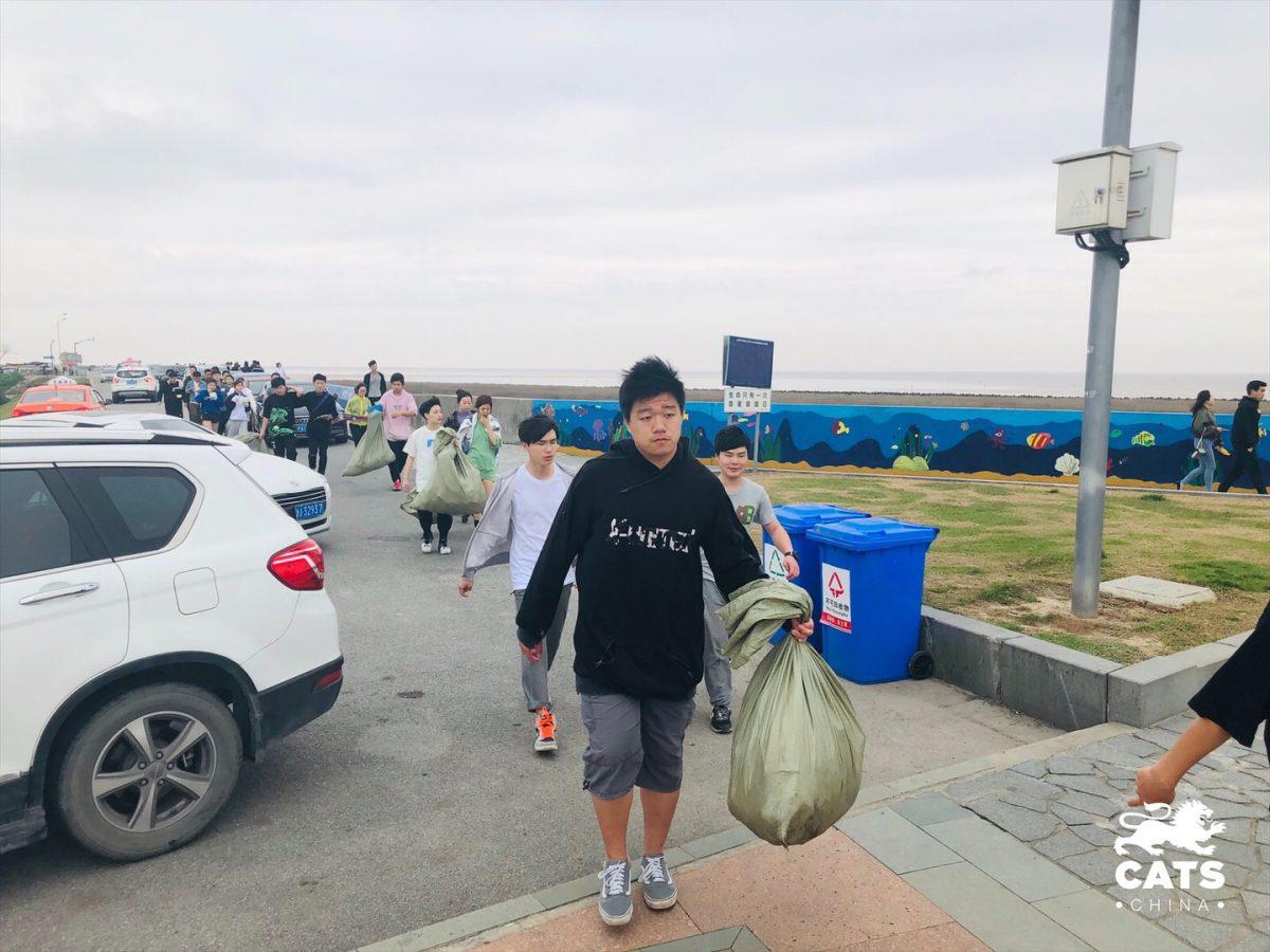 志愿活动 | 南汇嘴净滩行动